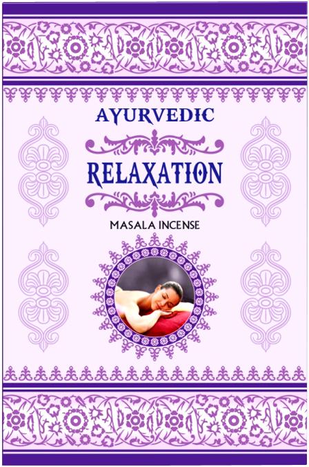Ayurvedic Relaxing incense 15g