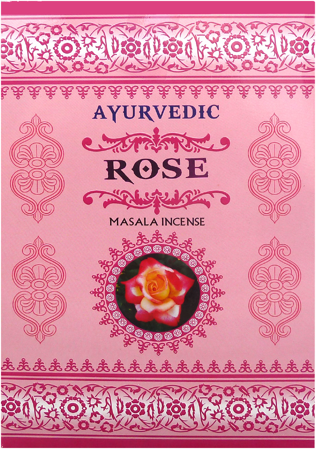Ayurvedic Rose Incense 15g