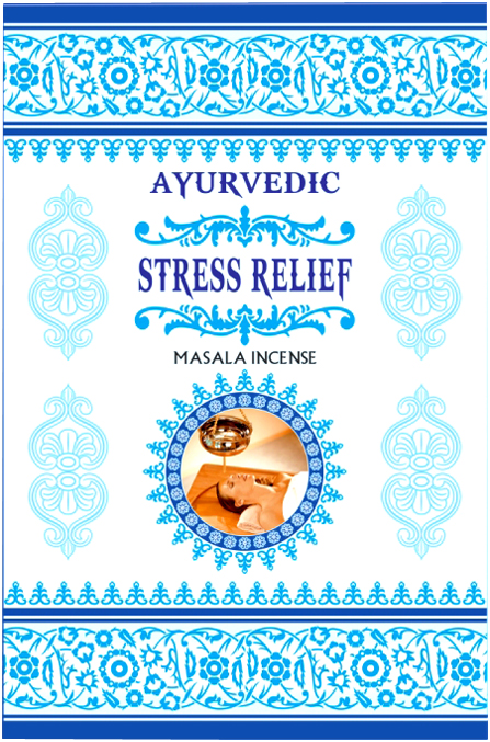 Incenso Ayurvedic Stress Relief 15g