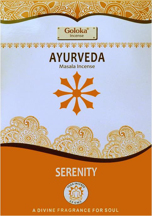 Encens goloka yoga series Ayurveda 15g