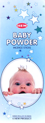 Incense hem baby powder hexa 20g
