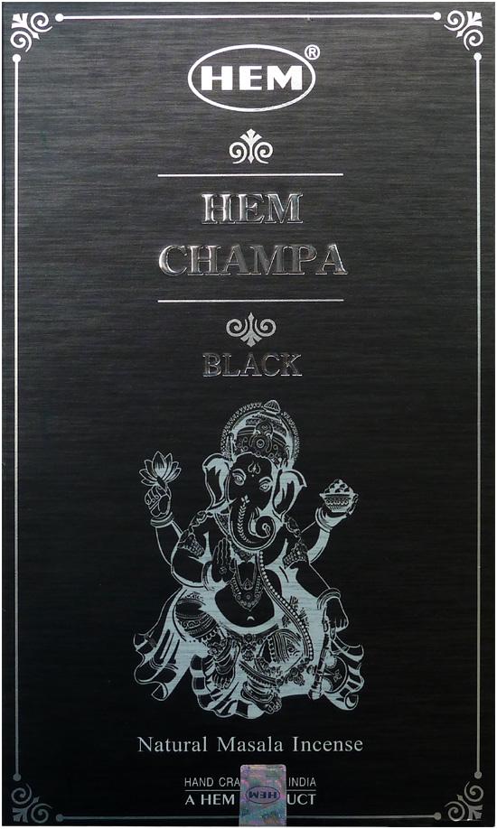 Encens Hem Masala black champa 15g