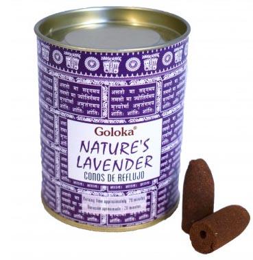 Cônes backflow Goloka Nature\'s Lavender 6pcs