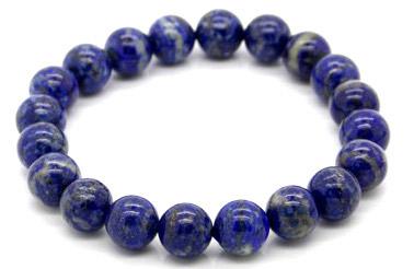 Bracelet Lapis Lazuli extra perles 10mm