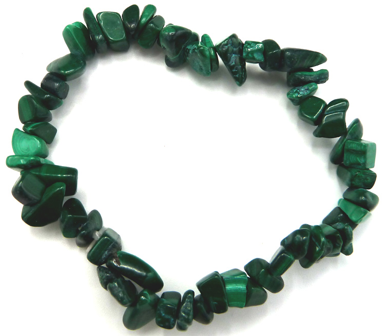 Bracelet Malachite extra chips