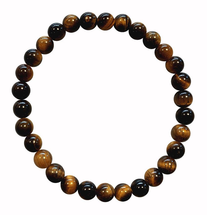 Tiger eye A pearls bracelet 5mm