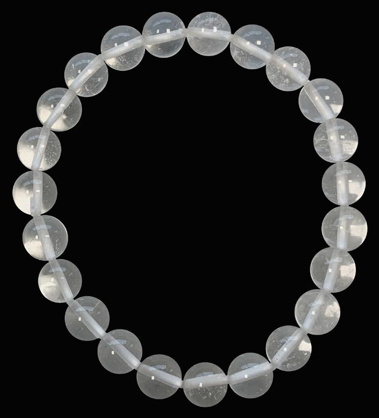 Bracelet cristal extra perles 8mm