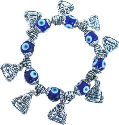 Bracelet bouddha contre le mauvais oeil x6