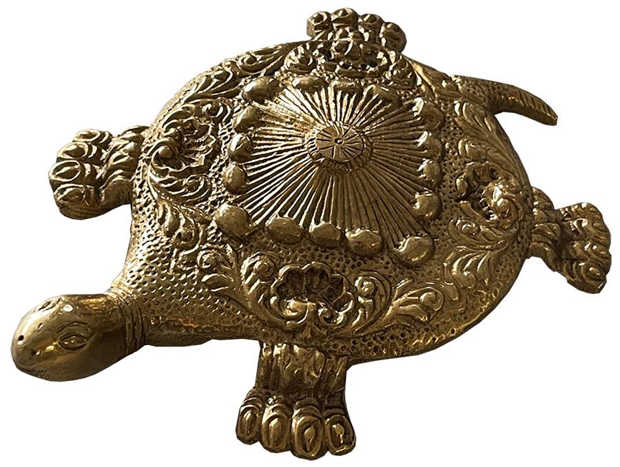 Tortue en bronze 13.5cm