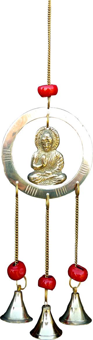 Mobile bouddha bronze 29cm