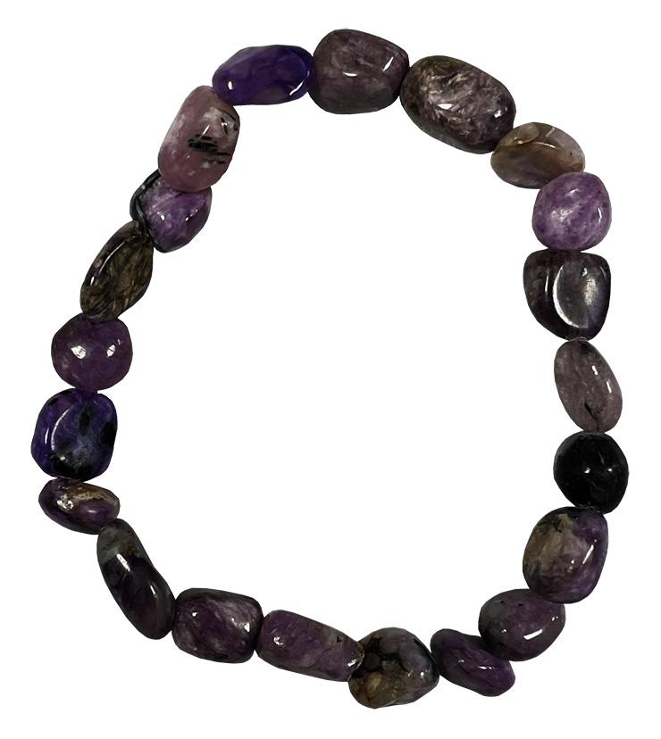 Bracelet Charoïte pierres roulées
