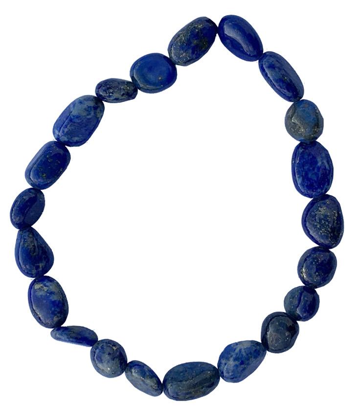 Bracelet Lapis Lazuli A pierres roulées