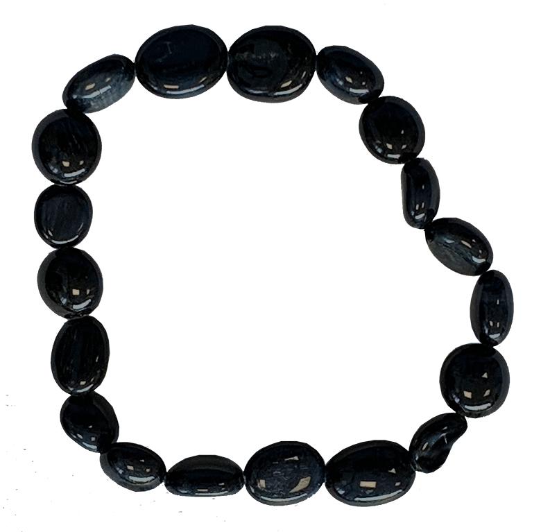 Bracelet Œil de Faucon A pierres roulées