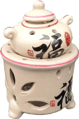 Bruleur theière ceramique feng shui