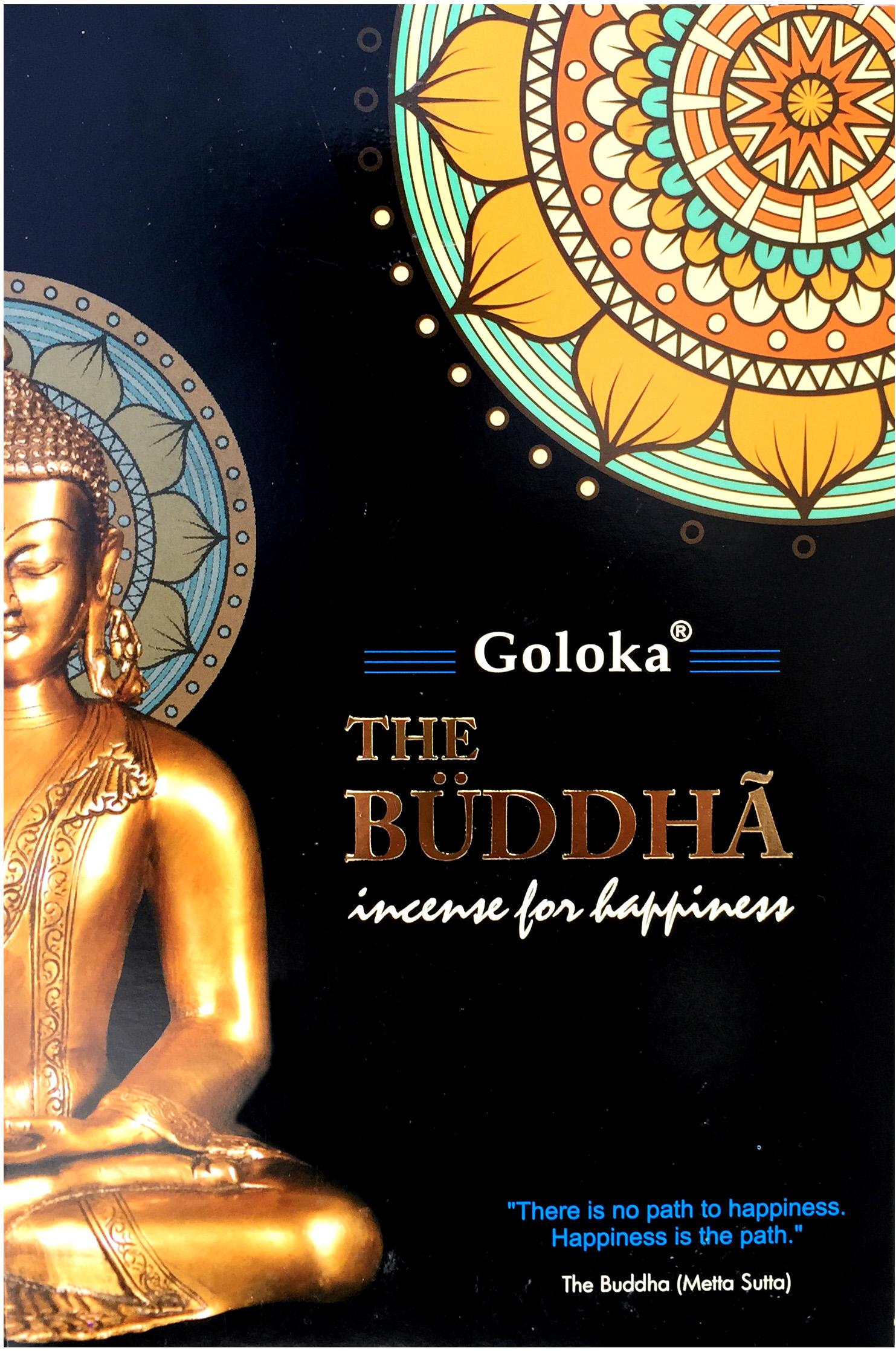 Encens Goloka black series bouddha 15g