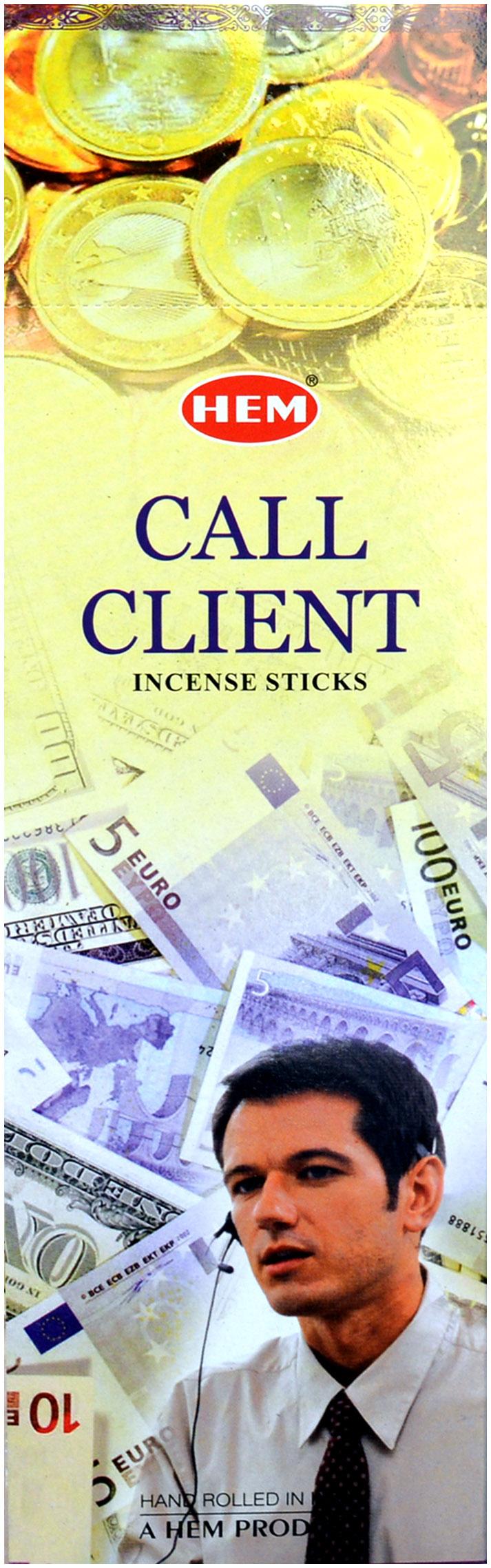 Hem incense call client 8Stks
