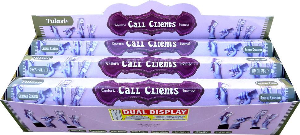 Incense tulasi sarathi call client hex 20g