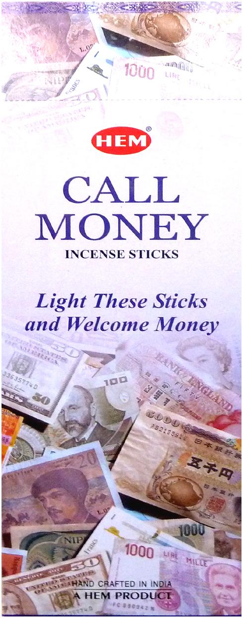 Encens hem Call Money Hexa 20g