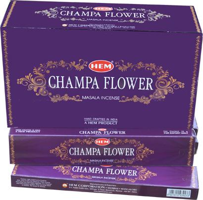 Encens hem masala champa flower mauve 15g