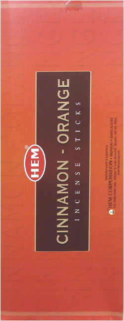 Encens Hem cinnamon orange Hexa 20g