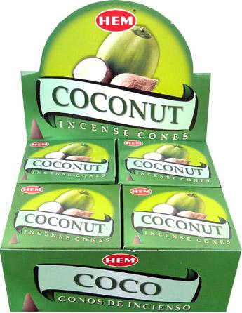 Encens hem noix de coco cones