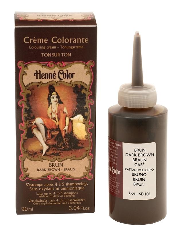 Crème henné colorante brun 90ml