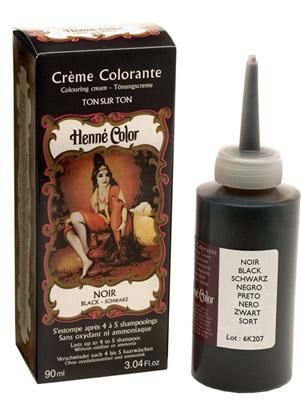 Crème henné colorante noir 90ml