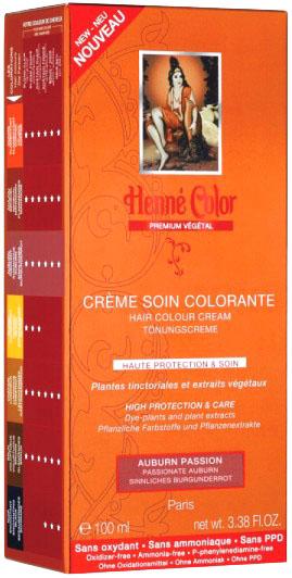 Crème soin colorante premium actifs végétaux auburn insolent 100ml