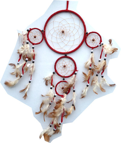 Dreamcatcher 15cm x 6 pcs