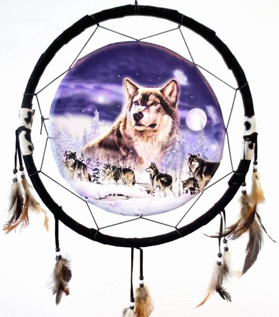 Dreamcatcher meute de loups 40cm