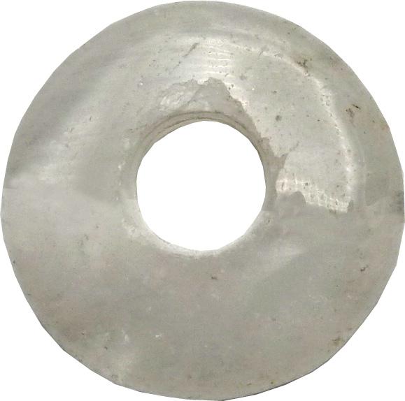 Donut cristal de roche \'B\' 3.5cm