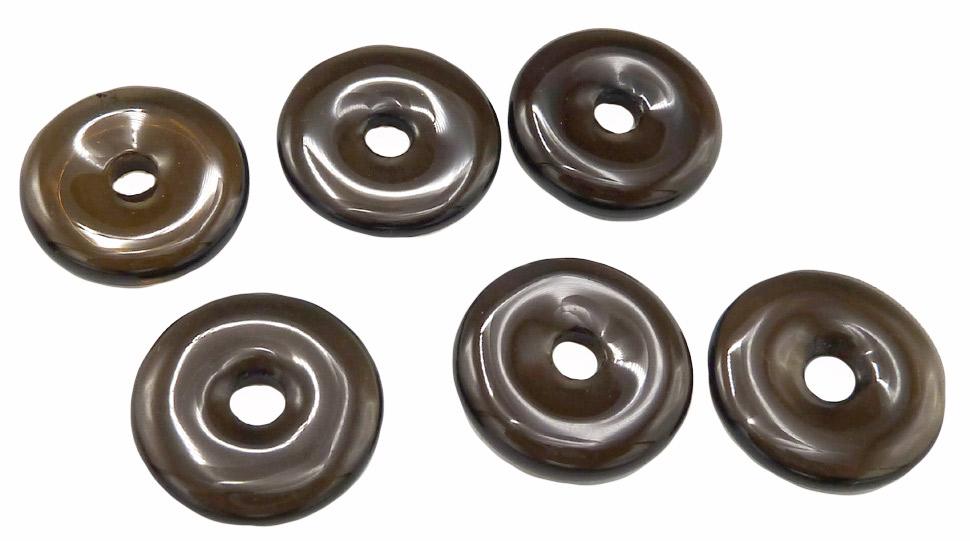 Donut quartz fumé extra 2cm