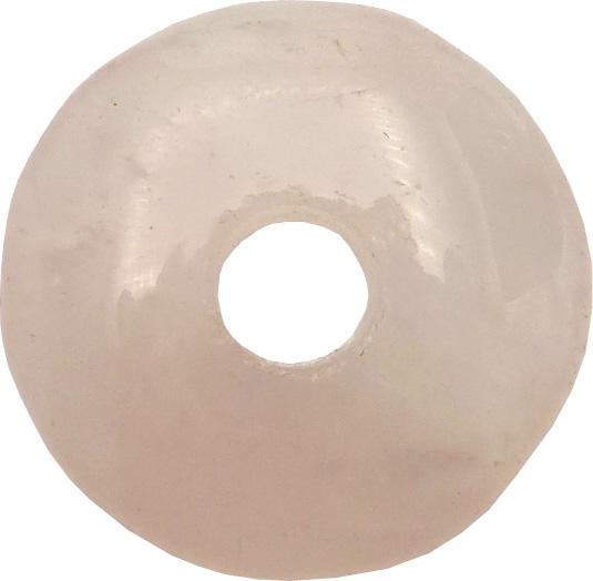 Donut quartz rose  \'B\' 3.5cm