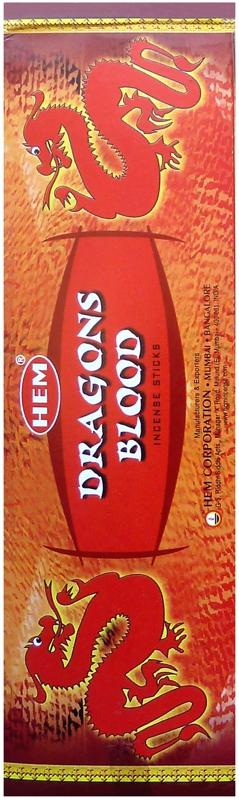 Encens Hem Sang de Dragons Hexa 20g