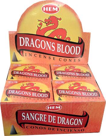 Encens hem sang de dragon cones