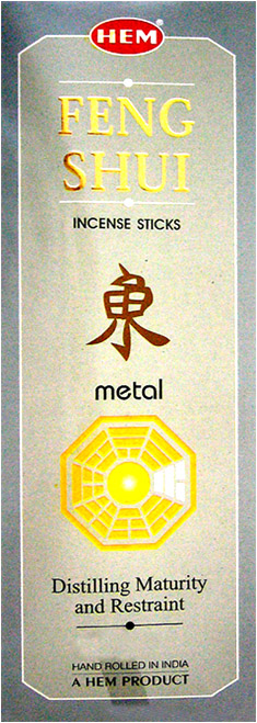 Encens hem feng shui metal hexa 20g