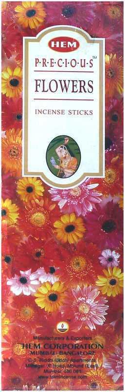 Encens Hem Precious Fleurs 8 Bts