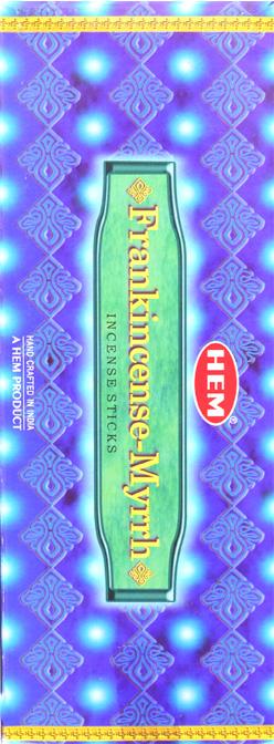 Encens hem frankincense & myrrhe hexa 20g