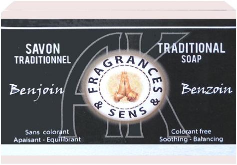 Savon fragrances & sens benjoin 100g