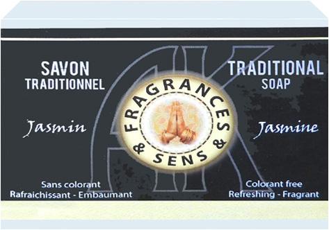 Savon fragrances & sens jasmin 100g