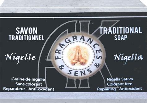 Savon fragrances & sens huile de nigelle 100g
