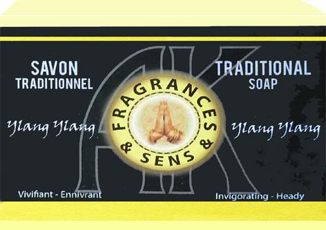 Savon fragrances & sens ylang ylang 100g