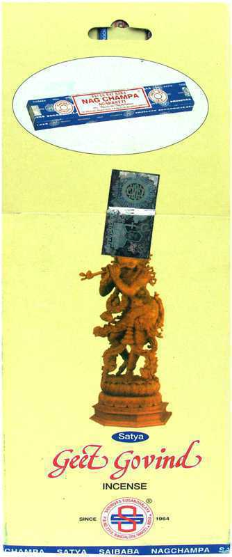 Encens Satya Geet Govind 10g