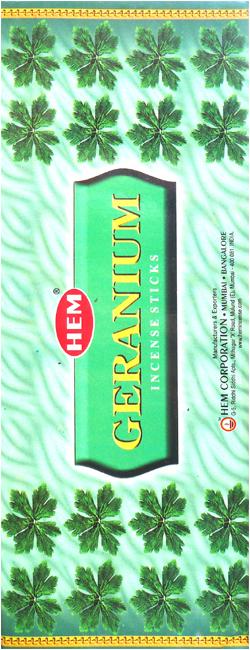 Encens hem geranium hexa 20g