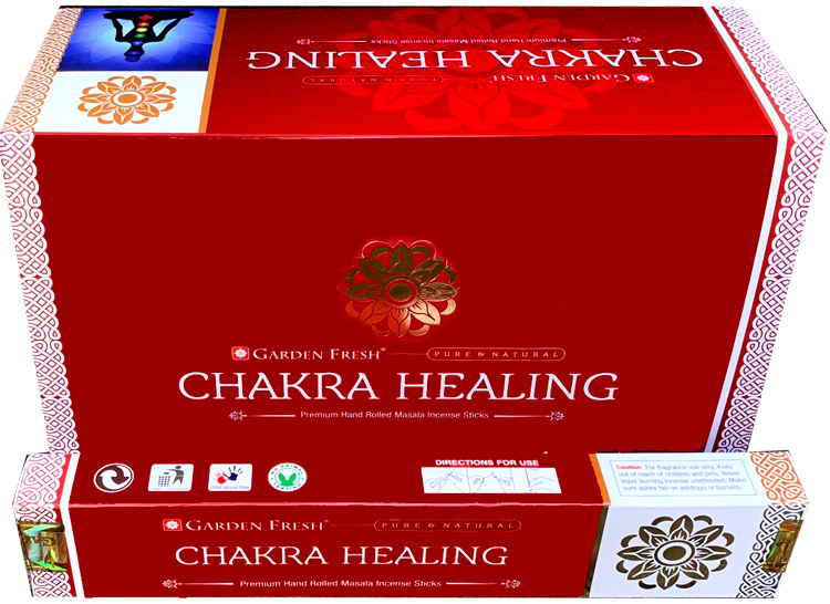 Encens Garden Fresh Chakra Healing masala 15g