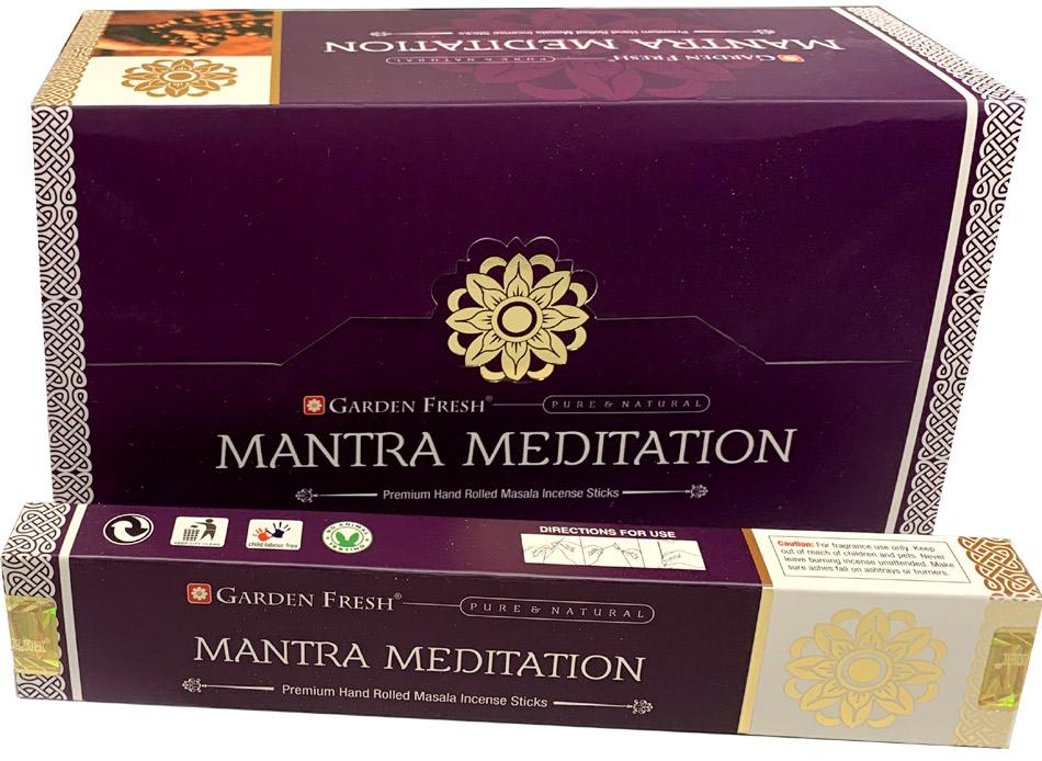 Encens Garden Fresh Mantra Meditation masala 15g