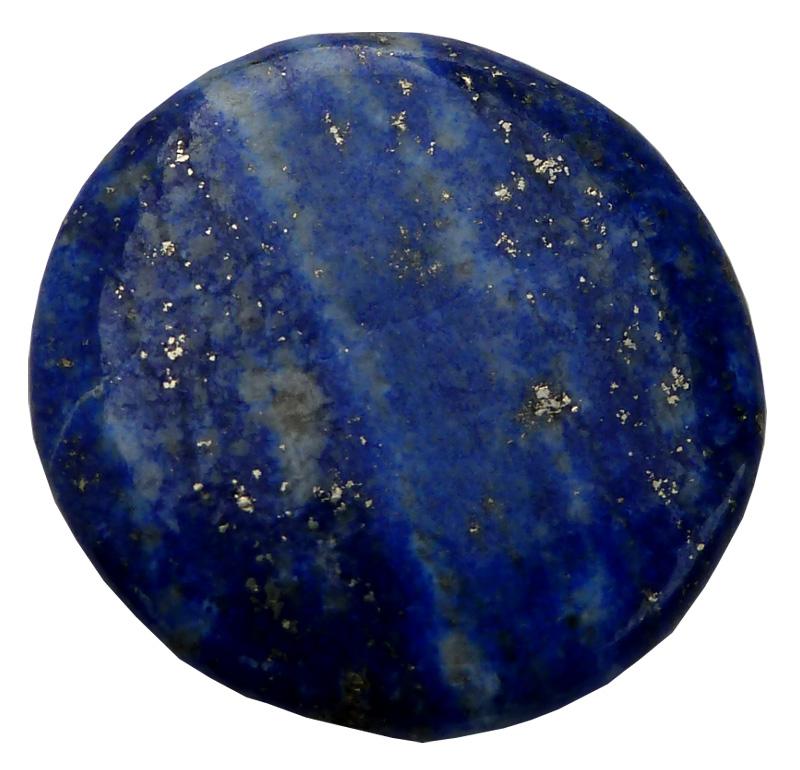 Lapis Lazuli 'B' mini galet plat 3cm