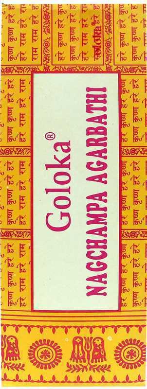 Encens Goloka nag champa Hexa 20g