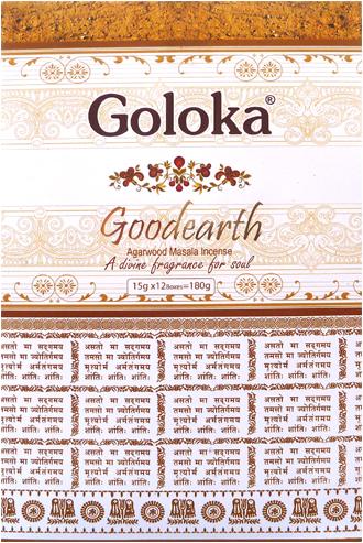 Encens goloka premium good earth agarwood masala 15g