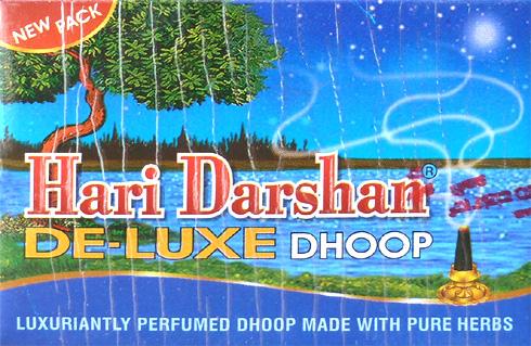 Hari darshan de luxe dhoop incense x12